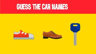 Guess Car Names from emoji  Emoji Quiz   Whatsapp quiz