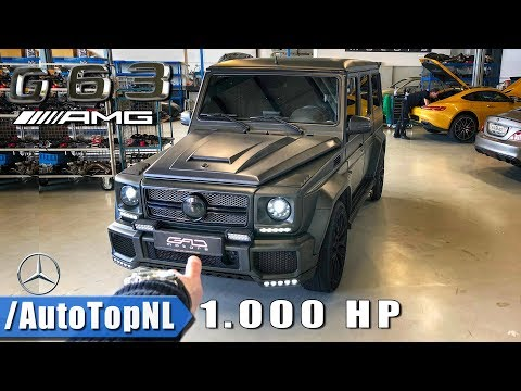 1000HP Mercedes G63 AMG GAD Motors REVIEW POV Test Drive | FASTEST G CLASS IN THE WORLD By AutoTopNL