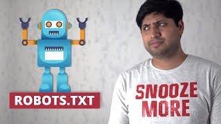 robots.txt | What, Why, and How | रोबोट्स फाइल क्या है?