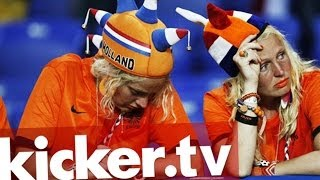 Oranje trauert - Niederlande verpassen das Finale - kicker.tv