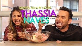 Desafio da Boca de Caçapa com Thassia Naves | MouthGuard Challenge  #HotelMazzafera