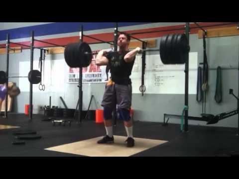 Download Drew Wilson 310lbs. / 141kg Clean & Jerk