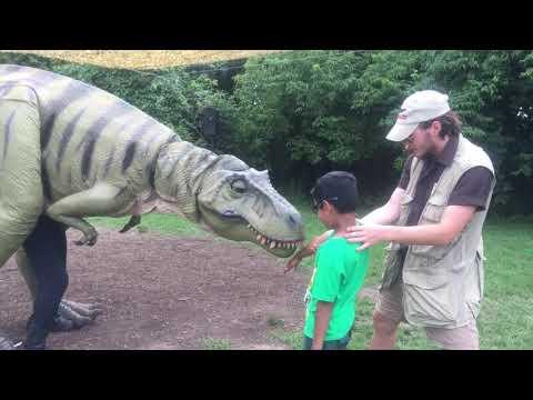 Dinosaur park, leonia, NJ, USA