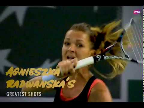 Agnieszka Radwanska's Greatest Shots!