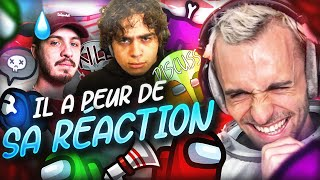IL A PEUR DE SA RÉACTION ! 😂 (Among Us)