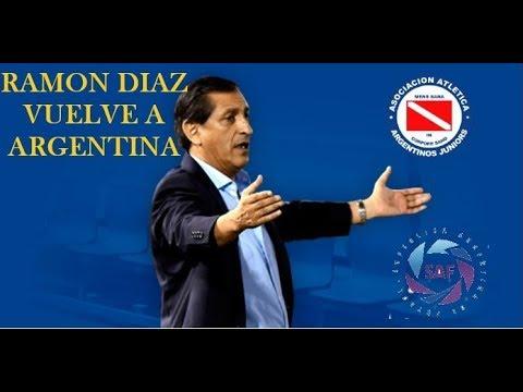 RAMÓN DIAZ QUIERE HACER A ARGENTINO JRS. GRANDE!   LIGA MASTER #1
