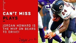Jordan Howard is the MVP on Bears TD Drive!