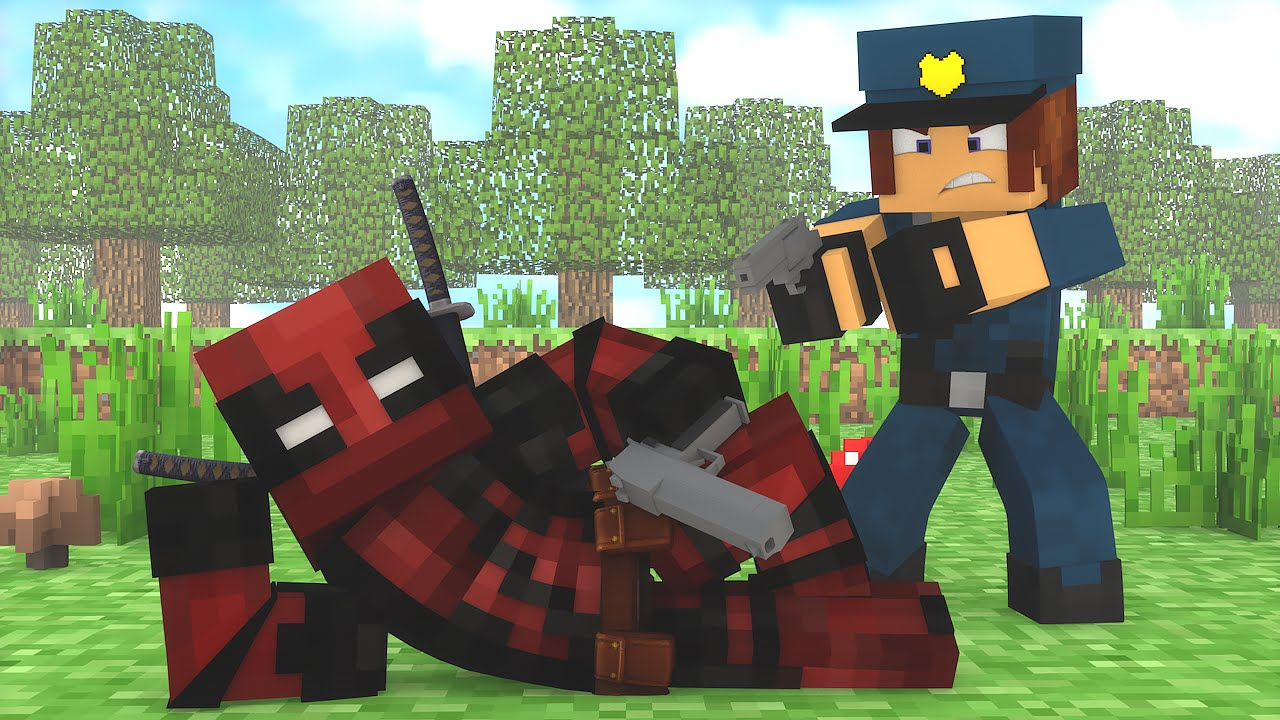 Minecraft : DEADPOOL FOI PRESO !!