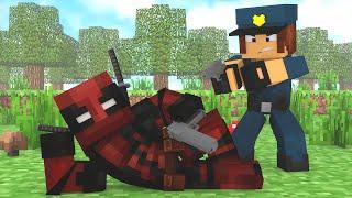 Minecraft : DEADPOOL FOI PRESO !! - ( Polícia e Ladrão)