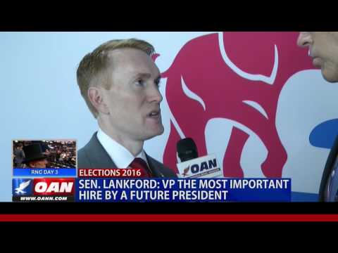 OAN EXCLUSIVE: Oklahoma Sen. James Lankford at GOP Convention