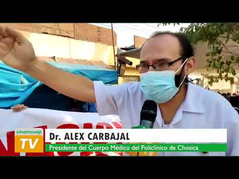 EN CONDICIONES LAMENTABLES MÉDICOS DE ESSALUD ATIENDEN A PACIENTES EN POLICLÍNICO DE CHOSICA