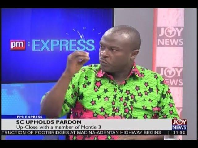 SC Upholds Pardon - PM Express on JoyNews (21-11-18)