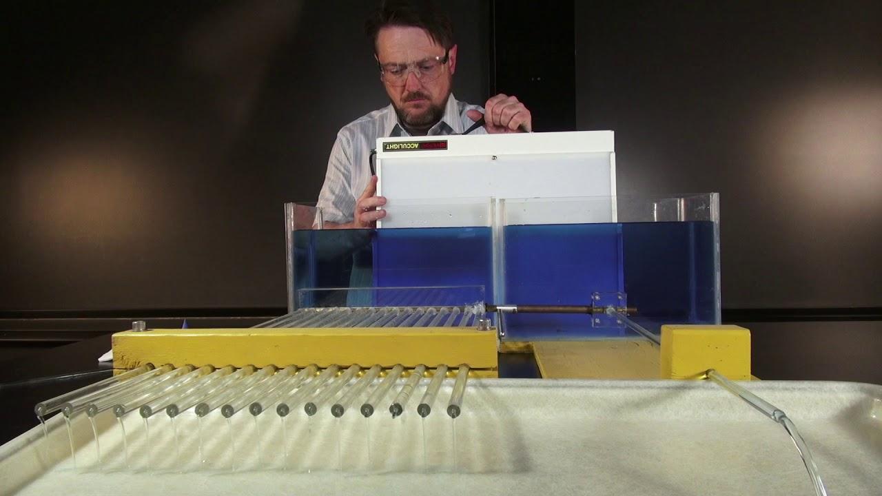 Poiseuille's Law (16 tubes vs 1 tube)