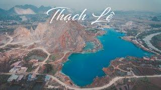 Hồ Thạch Lệ Màu Xanh Kì Lạ - Tuyệt Tình Cốc Hải Phòng Flycam