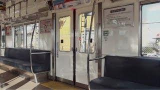 南海 6200系 VVVF更新車【ドア開閉】 萩原天神