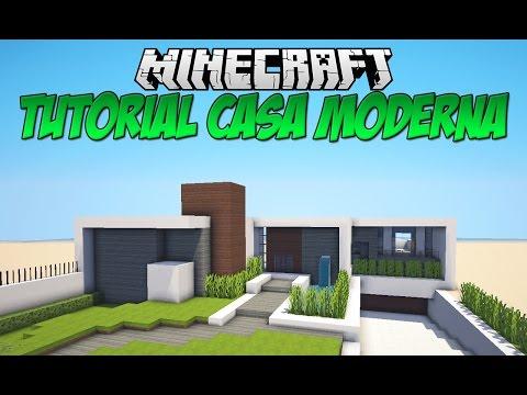 Tutoriais minecraft casa moderna download for Casas modernas minecraft 0 10 0