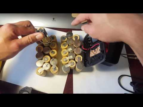 How To Rebuild Your Old Rechargeable Battery Packs with new ones. CHEAP!