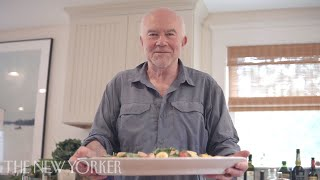 Bill Buford and His Sons Make Salad Niçoise  | The New Yorker