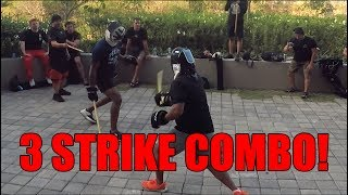Filipino Martial Arts: A Killer 3 Strike Combination You Can Learn NOW!!