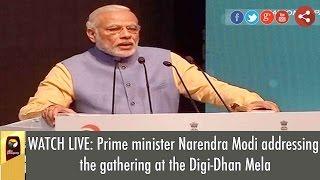 Video WATCH LIVE: Prime minister Narendra Modi addressing the gathering at Digi-Dhan Mela download MP3, 3GP, MP4, WEBM, AVI, FLV Juni 2017