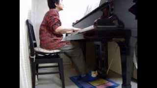 天地真理 『愛を呼ぶ春』 をピアノで
