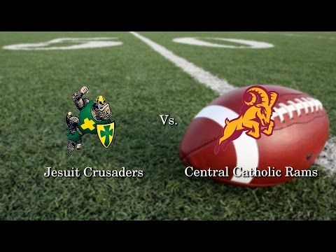 Central Catholic @ Jesuit Football, 9/9/16