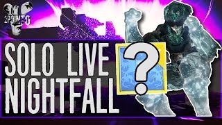 Destiny: SOLO NIGHTFALL LIVE - INFINITE GRENADES (Void Burn Catapult) Destiny Live Gameplay