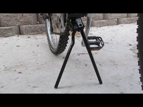 Black NEW Pletscher Two-leg double Kickstand 320mm