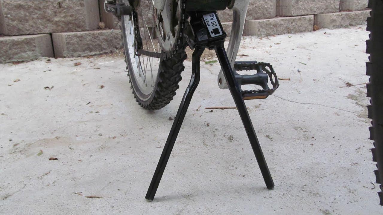 Silver Pletscher Two-leg Kickstand 320mm