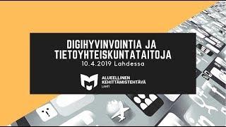 Tuomo Mannonen: Digiopastus Kouvolan kaupunginkirjastossa