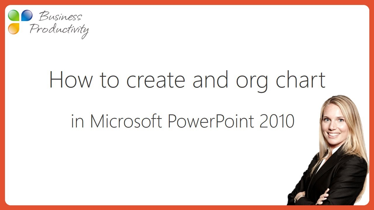 how to create an org chart in microsoft powerpoint 2010 - Organizational Chart In Powerpoint 2010