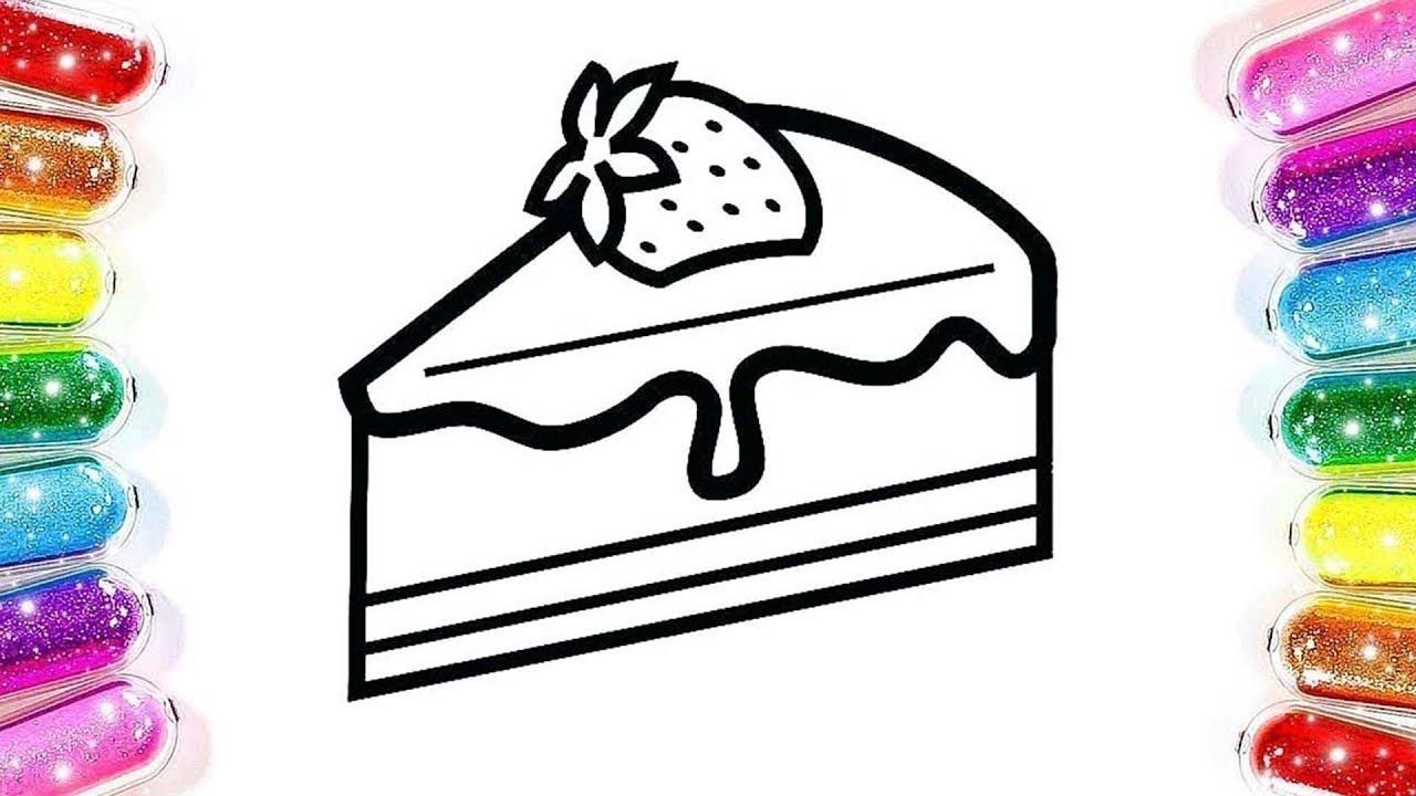 Pasta Boyama Renkleri öğreniyorum Boyama Oyunu çizgi Film çocuk