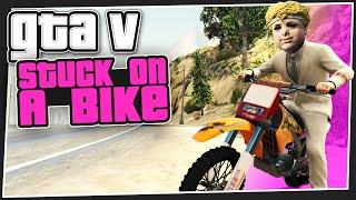 GTA 5 Online - Stuck On A Bike (Custom Games)