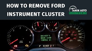 Tanin Auto Electronix 2004+ Ford Freestar Freestyle Taurus Speedometer Cluster Removal and Repair