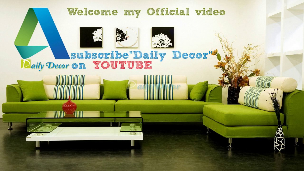 Light Green Living Room Daily Decor Light Green And Brown Living Room Youtube