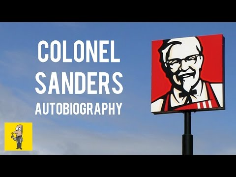 COLONEL SANDERS The Original Celebrity Chef | Animated Book Summary