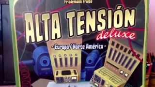 Alta Tensión Deluxe - Juego de mesa - Componentes del juego