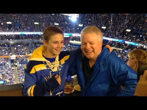 LISTEN: 12-Year-Old's Debut on St. Louis Blues Radio
