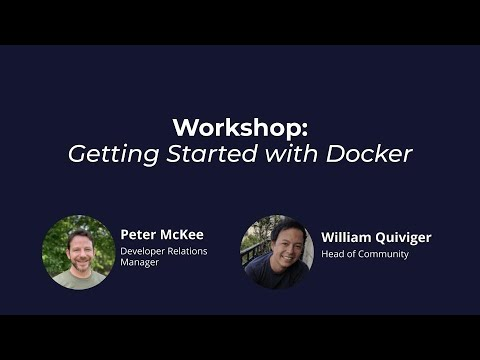 Getting Started with Docker