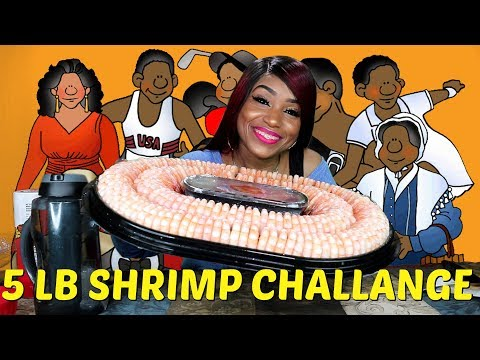 5lbs Shrimp Challenge and My Favorite Reality s Discussion