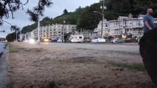 experimento social en alki beach seattle