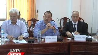 Lao NEWS on LNTV: The Lao Luxembourg Health Sector Support Programme HSSP move ahead.9/2/2015
