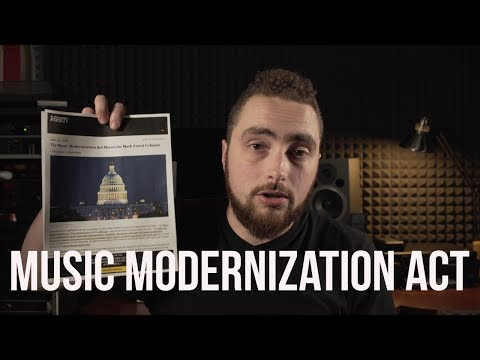 Could This Law Save The Music Industry? Music Modernization Act