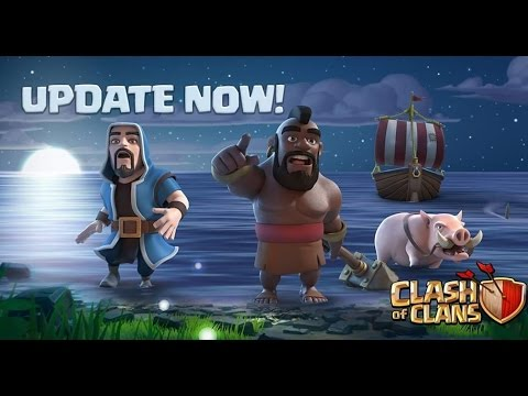 CLASH OF CLANS MAY 2017 UPDATE TODAY | MAINTENANCE BREAK IS ON !!!!