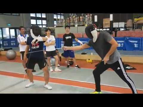 Coaching course fencing - Taipei 3/3