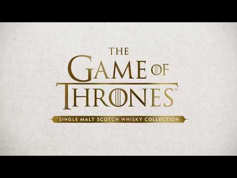 Game of Thrones Single Malt Scotch Whisky Collection
