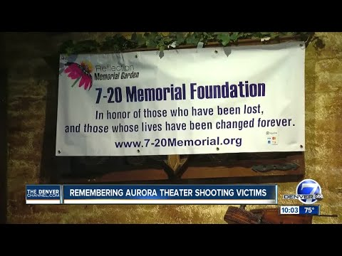 Remembering Aurora Theater Shooting victims
