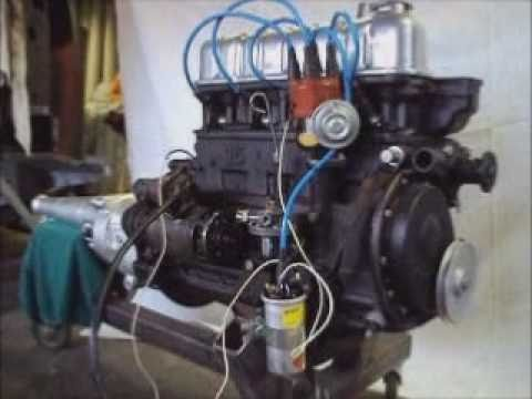Ford Taunus 15m Weltkugel Engine Overhaul