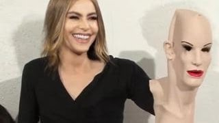 Sofia Vergara Reacts to Bizarre Transformation Video