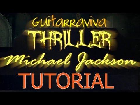 Thriller Acordes Guitarra Michael Jackson Tutorial como tocar How to play chords